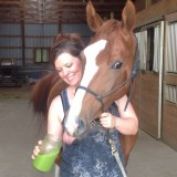 Even Horses Rock the Spicy Green Juice Recipe